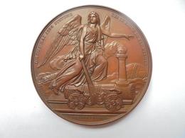 CHEMINS DE FER BELGES XXVeme ANNIVERSAIRE 1834-1859- 71 GRAMMES-55 Mm - Professionnels / De Société