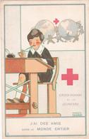 CPA Croix-Rouge De La Jeunesse - J'ai Des Amis Dans Le Monde Entier  - Illustration Signée De Maggie Salzedo - Croix-Rouge