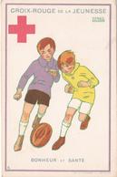 CPA Croix-Rouge De La Jeunesse - Bonheur Et Santé  - Illustration Signée De Maggie Salzedo - Croix-Rouge
