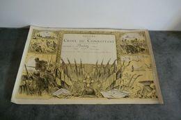 Diplôme De La Croix Du Combattant - Documents