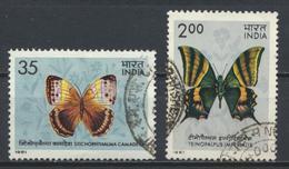 °°° INDIA - Y&T N°685/86 - 1981 °°° - India
