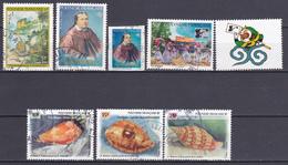 Polynésie Horoscope Faune Marine Reine Pomaré China 96 N°501-503 à 505-506-507-509 Oblitéré - Polynésie Française