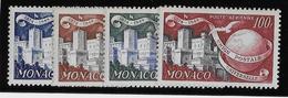 Monaco Poste Aérienne N°45/48 - Oiseaux - Neuf ** Sans Charnière - TB - Poste Aérienne