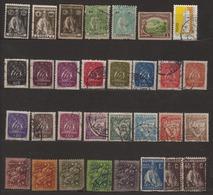 Portugal Lot De 31 Timbres Divers Oblitérés Tous Différents - 1910-... Republic