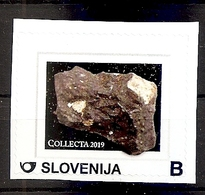 SLOVENIA 2019,,COLLECTA 2019,MINERAL,STONE,MNH - Slovénie