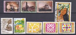 Polynésie Instruments De Musique Peintres Société Des études Horoscope Tifaif N°513 à 515-521-524-525-528 à 530 Oblitéré - Polynésie Française