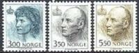 Noorwegen 1993 3+3.5+5.50kr Koningin Sonja En Koning Harald Gewoon Papier PF-MNH-NEUF - Neufs