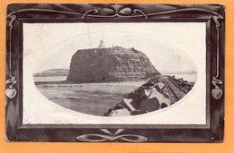 Nobbys Newcastle NSW 1909 Postcard - Newcastle