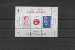De Gaulle Bloc Neuf Carré De Marigny - Sheetlets