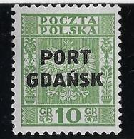Dantzig Bureaux Polonais N°24 - Neuf * Avec Charnière - TB - Autres - Europe