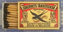 Säkerhets Tändstickor, Made In Belgium - Boites D'allumettes