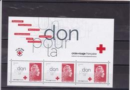 FRANCE  : Croix Rouge Marianne :Y&T : BF ** - Blocchi & Foglietti
