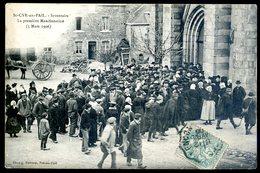 Cpa Du 61 St Cyr En Pail La Première Manifestation 5 Mars 1906    ACH12 - Autres Communes