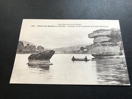 839 - Frontiere Franco-Suisse - Entrée Des Bassins Du DOUBS - Rocher De La Casquette Et Table D'Hercule - France