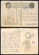 SOUTH AFRICA. 1943 (12 March). British POW At Italy To East London. - Afrique Du Sud (1961-...)