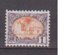 COTE DES SOMALIS                 N° YVERT  :   37   NEUF SANS GOMME        ( SG     1/21  ) - Côte Française Des Somalis (1894-1967)