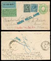 ARGENTINA. 1927 (13 Jan). Gosport / Hants - Bs As / Argentina. AIR FLOWN Env - Toulousse (14 Jan) - Bs As (14 Feb). Firs - Unclassified
