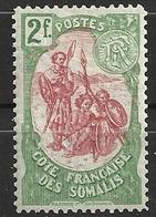COTE DES SOMALIS                 N° YVERT  :   51  NEUF SANS GOMME        ( SG     1/21  ) - Côte Française Des Somalis (1894-1967)