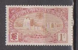 COTE DES SOMALIS                 N° YVERT  :  67  NEUF SANS GOMME        ( SG     1/21  ) - Côte Française Des Somalis (1894-1967)