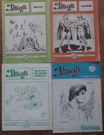 LOT DE 5 HAGA - MAGAZINE BD - N° 2/8/44/46/54 - HERGE -MONZON/DE MOOR - MORRIS-LOB/SOLE - BURNE HOGARTH - Magazines Et Périodiques