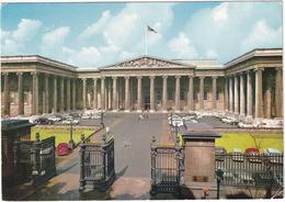 London:  AUSTIN EIGHT '39, HUMBER HAWK, ROLLS ROYCE PHANTOM I, VAUXHALL VICTOR FB - British Museum, South Front - Toerisme