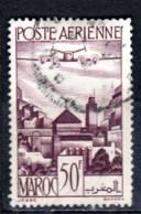 Maroc 1947 Poste Aérienne Moulay Idriss 50f  N° Dallay PA62 - Maroc (1891-1956)