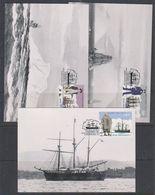 Ross Dependency 1995 Explorers 6v 6 Maxicards (42245) - Maximumkaarten