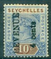 SEYCHELLES Timbre Surchargé Revenue  4 Cents Neuf X - Seychelles (...-1976)