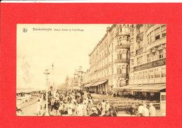 BLANKENBERGE BLANKENBERGHE Cpa Animée Hotels Bristol Et Petit Rouge    Edit Nels - Blankenberge