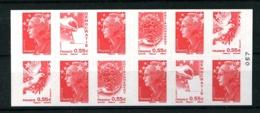 4197-C5 - Carnet Marianne Et L'Europe - 12 TVP (rouge)- Neuf** - TB  (vendu Sous Faciale) - Carnets