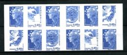 4201-C1 - Carnet Marianne Et L'Europe - 12 TVP (bleu)- Neuf** - TB  (vendu Sous Faciale) - Carnets