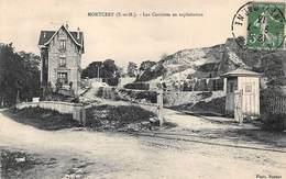 77 . N°53124. MONTCERF . Les Carrières En Exploitation - Altri Comuni