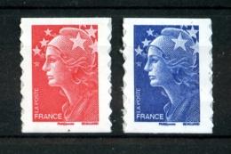 Autoadhésifs  - 175a Et 179a - Marianne De Beaujard (issus De Feuilles) - 2 Valeurs - Neufs N** - TB - Adhésifs (autocollants)
