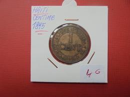 HAITI 1 CENTIME 1895 - Haïti