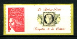 """Personnalisé  - 3729A - TVP Rouge - Logo """"Tremplin De La Culture"""" (grande Vignette) - Neuf N** - TB - Personnalisés"""