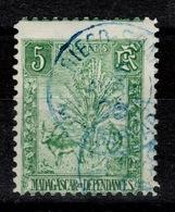 Madagascar YV 66 Zebu Obliteration DIEGO-SUAREZ - Used Stamps