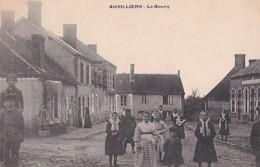 AUVILLIERS                 LE BOURG . LES ENFANTS ..... - France