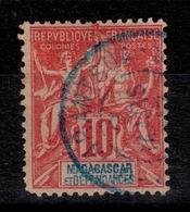 Madagascar YV 43 Oblitere TANARANTSOA , Pas Aminci - Oblitérés