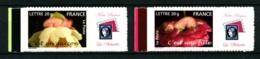 """Personnalisés  - 3804B Et 3805B - 2 Valeurs Naissance - Personnalisés """"Notre Passion"""" - Neufs N** - TB - Personnalisés"""
