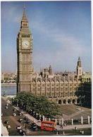 London: OLDTIMER CARS, AUSTIN FX2 TAXI,  DOUBLE DECK BUS - Big Ben From Treasury Building - Toerisme