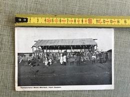 PORT SUDAN TEMPORARY MEAT MARKET 1916 LA HAYE HOLLAND VIA MARSEILLE LONDON - Cartes Postales