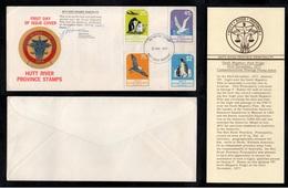 HUTT RIVER PROVINCE - WESTERN AUSTRALIA / 23-11-1977 ANTARCTIC FLIGHT COVER (ref 1901) - 1966-79 Elizabeth II