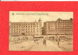 BLANKENBERGE BLANKENBERGHE Cpa Animée Les Hotels Bristol Petit Rouge Et Paweles D ' Hondt Edit Nels - Blankenberge