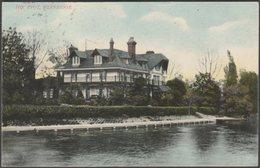 The Eyot, Weybridge, Surrey, 1906 - AS Series Postcard - Surrey