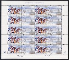 POLAND 2006 Winter Olympic Games, Sheet, Cancelled.  Michel 4227 - Blocs & Hojas
