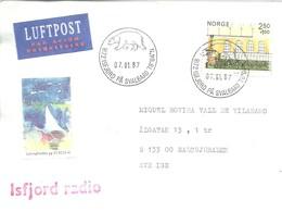 LETTER  1987 - Norvège