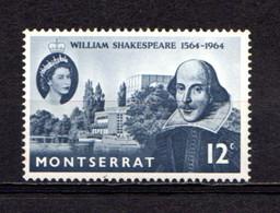 MONTSERRAT    1964    400th  Birth  Anniv  Of  William  Shakespere    MNH - Montserrat