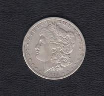 1884.- ESTADOS UNIDOS.  20 DOLAR PLATA. - 1878-1921: Morgan