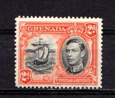 GRENADA      1938     2d  Black And  Orange   Perf  12 1/2    MH - Grenada (...-1974)