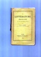 E01  - 1873 - Couverture Détachée - La Litterature Française Au Dix Septieme Siecle - Paul Albert - Livres, BD, Revues